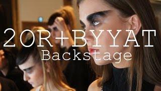 2OR+BYYAT // Backstage at Copenhagen Fashion Week