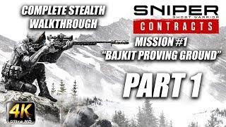 Sniper Ghost Warrior: Contracts   Complete Stealth Walkthrough   Deadeye   Part 1