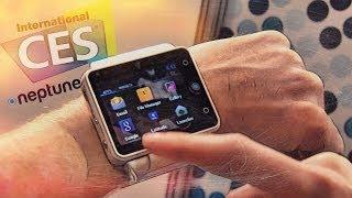 CES 2014: Самые умные часы? Neptune Pine (мини обзор)