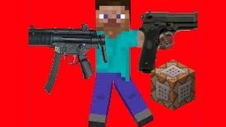 Armas no minecraft?command block