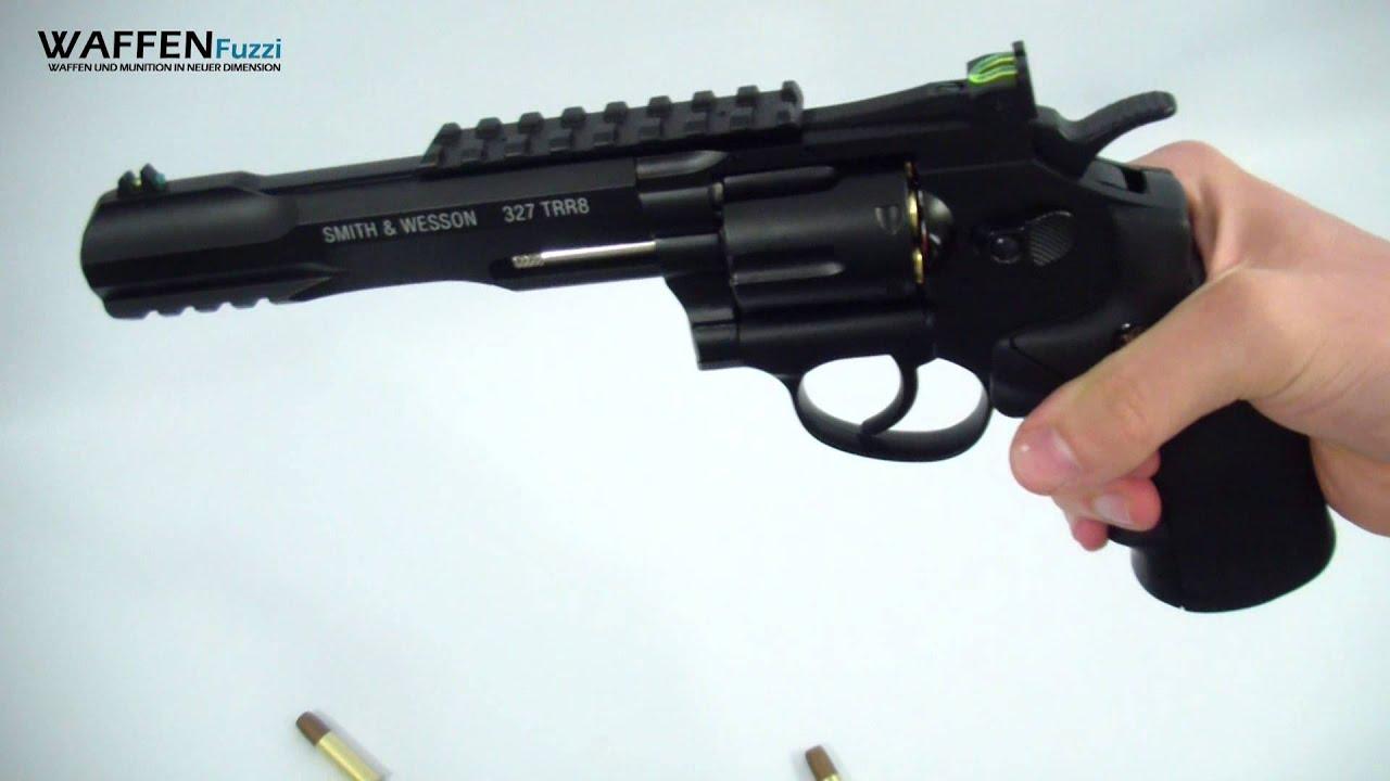 Smith  U0026 Wesson 327 Trr8 Co2 Revolver 4 5 Mm Bb  Co U00b2
