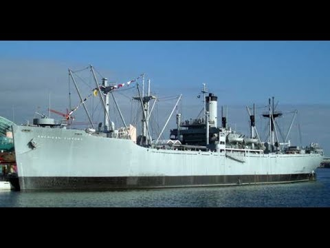 SS American Victory Tour! (WW2 Cargo Ship)