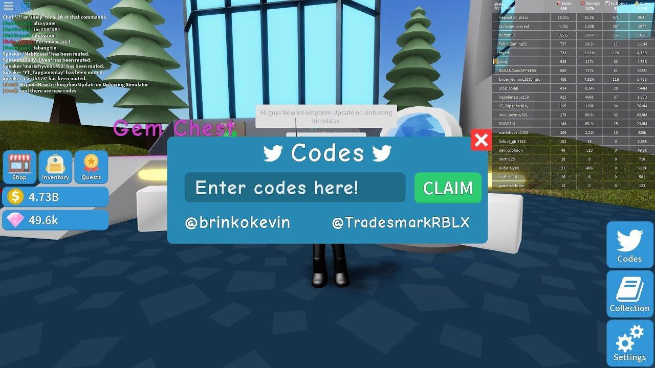 💐 Codes ice unboxing simulator wiki | Bee Swarm Simulator Wiki