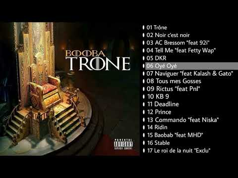 FUITE!!! BOOBA ALBUM TRONE (tracklist + instru)