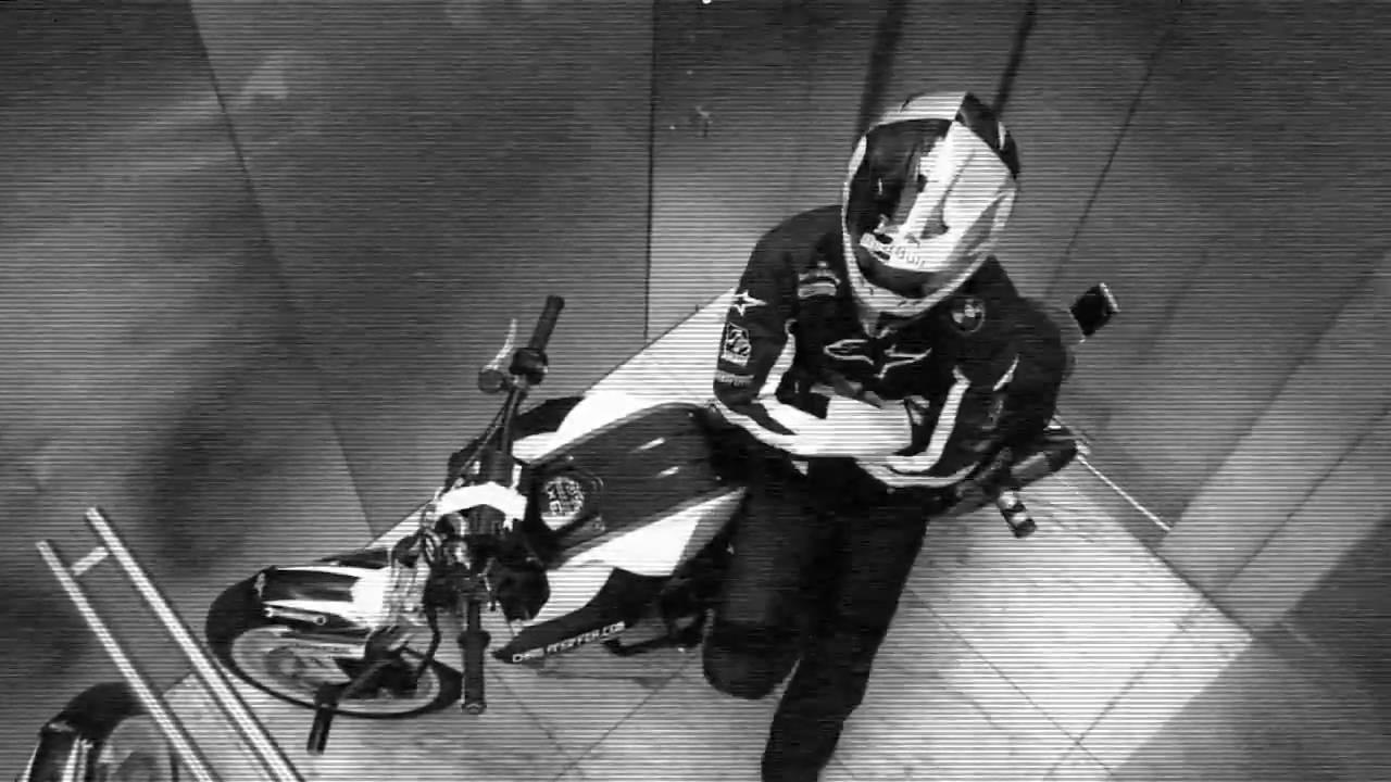 Chris Pfeiffer rides BMW Tower
