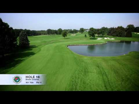Hole 16 | South Course | Oakland Hills Country Club | Bloomfield Hills, MI