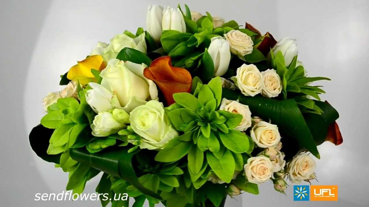 Заказать букет к 8 марта, доставка цветов в корзине воронеж