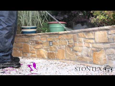 STONTEX PLATINUM STONE SEALER - how to apply natural stone sealer
