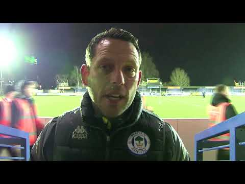 LEAM RICHARDSON: Assistant Manager credits players for superb 4-0 win at AFC Wimbledon