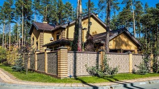 Дом генерал-полковника Виктора Стригунова в элитном посёлке «Удача»