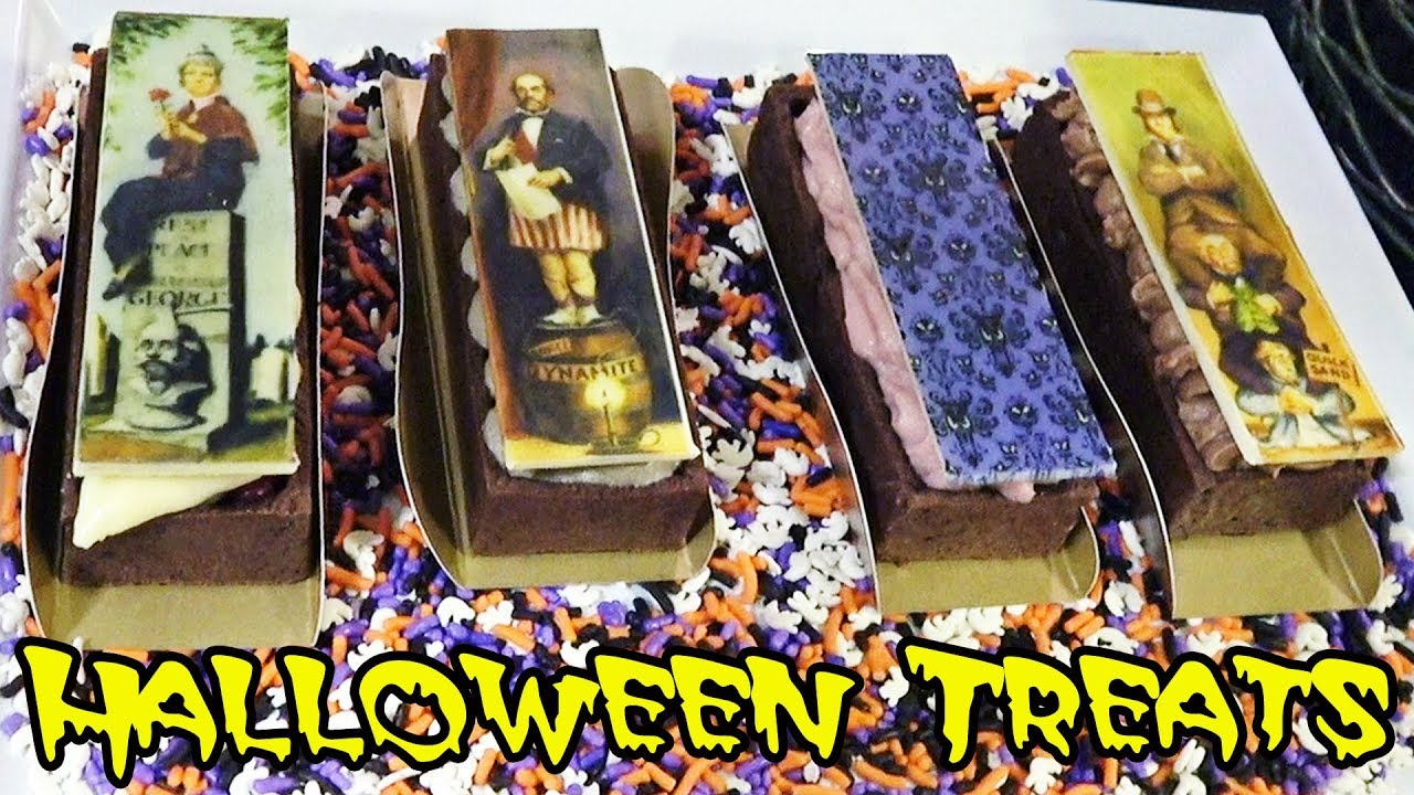 new treats for sale at mickeys not so scary halloween party 2017 including haunted mansion desserts