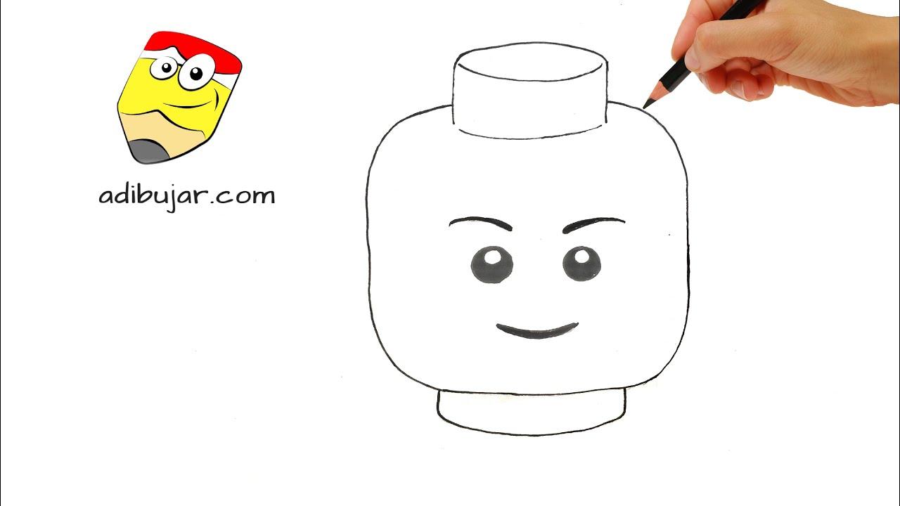 Como Dibujar Un Lego Facil Paso A Paso Youtube