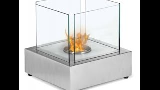 Cube Tabletop Bio Ethanol Fireplace By Ignis | Cleanflames.com