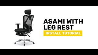 2:47 / 3:14  ASAMI Office Chair with Leg Rest - Display and Install Procedure