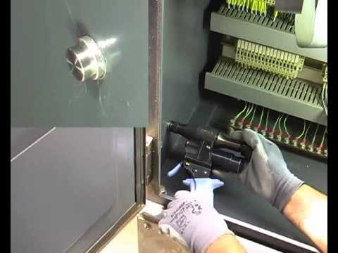Glenair Imm Earth Bond Stud Setting System Youtube