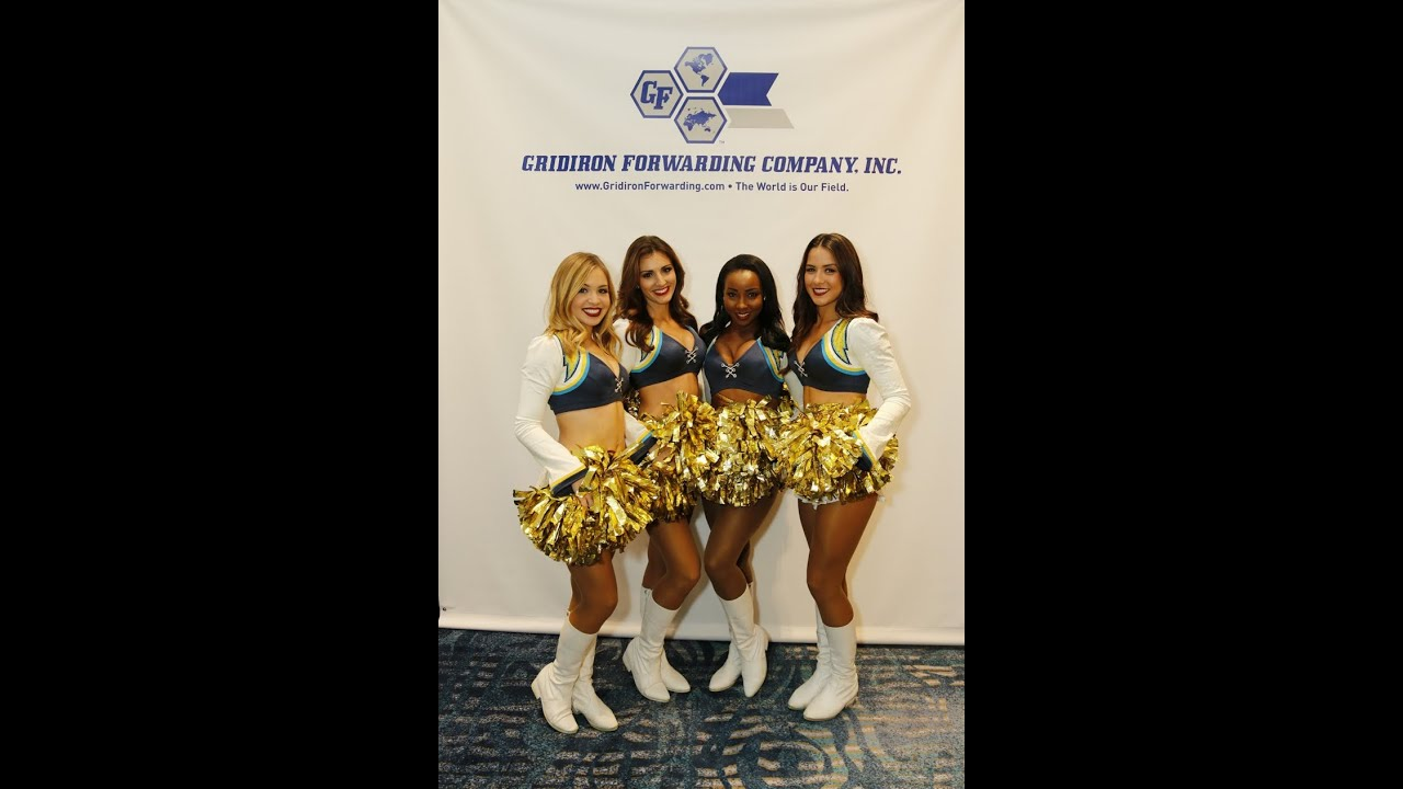 Open Air Photo Booth by Memories Event Photography & Photo Booth with the  San Diego Cheerleaders!