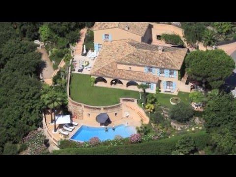 Les Adrets-De-L'Estérel  Vente Villa de charme - 245 m² - Vue panoramique Baie de Cannes