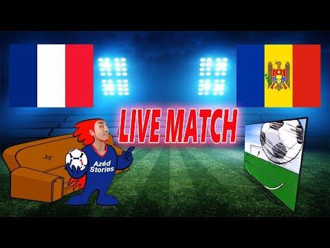🔴🎥 (LIVE/MATCH) FRANCE - MOLDAVIE / Éliminatoires Euro 2020