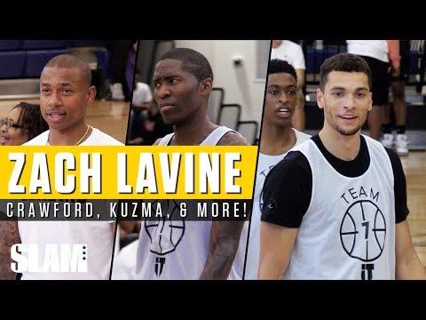 d6a1dba4ca7 Zach LaVine shows off at Zeke-End Basketball Tournament | NBC Sports Chicago