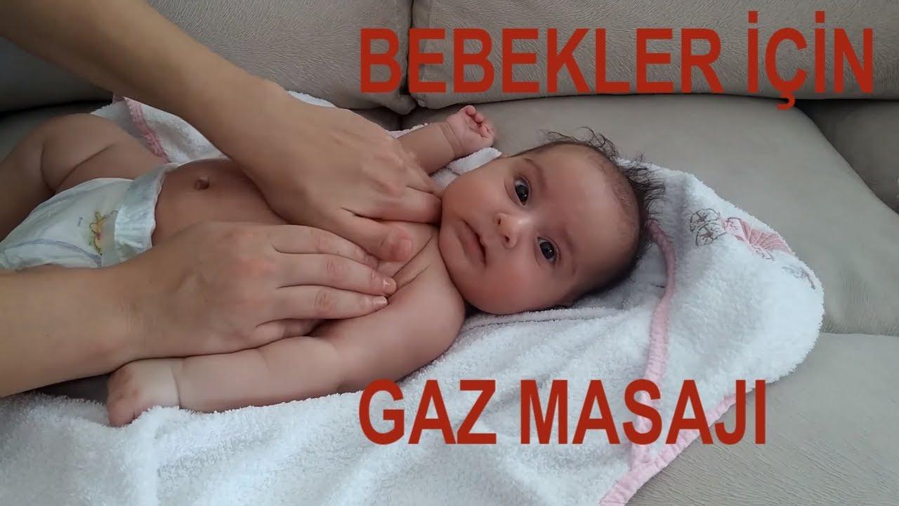 Gazı olan bebeğe nasıl masaj yapılır