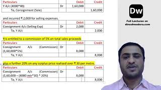 Lecture 19_1 - Consignment - Part 4 - CA Foundation - Accounts
