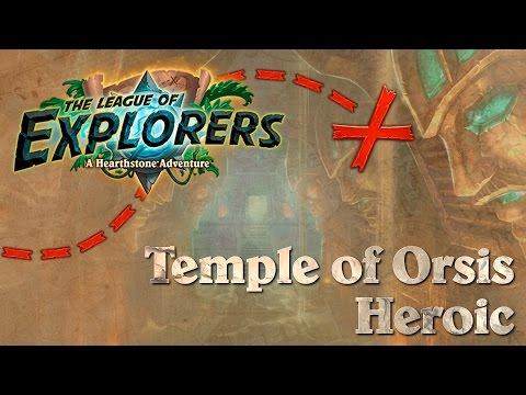 Hearthstone: One Man Raid - LoE #2 - Temple of Orsis Heroic