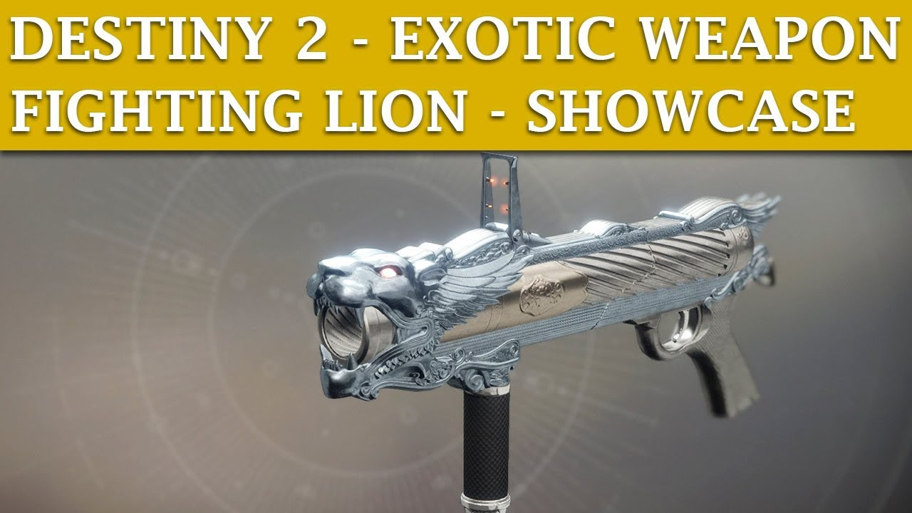 Fighting Lion Destiny 2 Ornament Related Keywords & Suggestions