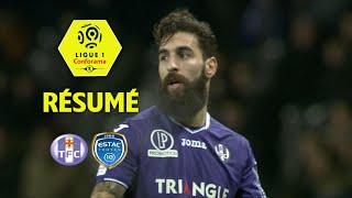 Toulouse FC - ESTAC Troyes (1-0)  - Résumé - (TFC - ESTAC) / 2017-18
