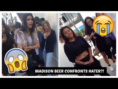 Madison Beer Confronts Hater?!