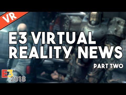 [VR] E3 Virtual Reality News - Wolfenstein: Cyberpilot, Prey VR, Elder Scrolls VR, Ghost Giant thumbnail