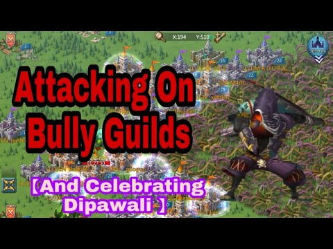 Indian's Celebrating Diwali In Lords Mobile And Attacking Bully Guilds
