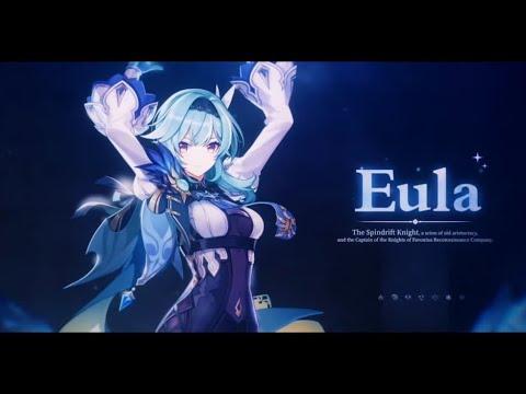 Genshin Impact Eula Demo Trailer PV JAPANESE DUB w/ Eng Sub