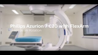 Azurion with FlexArm - Image Beam Rotation