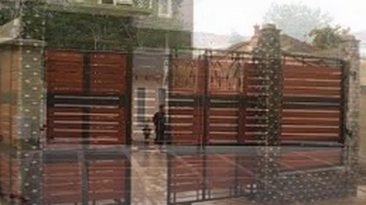 Desain Pintu Gerbang Minimalis - Pagar Rumah