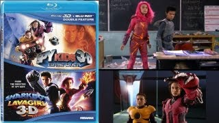 Spy Kids 3D: Game Over / The Adventures of Sharkboy and Lavagirl 3D Blu-ray Unboxing - (2003,2005)