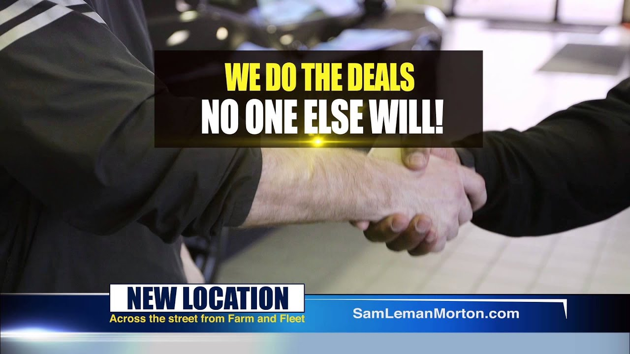"Sam Leman Chrysler Dodge Jeep Ram Morton ""Number e For A Reason"