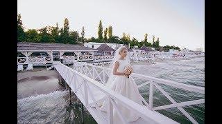 Романтическая свадьба в Одессе у моря. Ресторан Ривьера. Агентство Marina Gabbana event group
