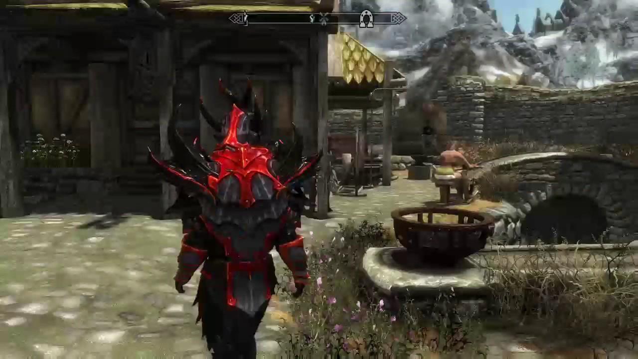 Skyrim slooty console mods showcase  | Daikhlo