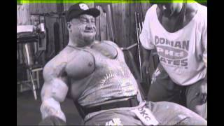 Dorian Yates. BLOOD AND GUTS! Every. Last. Rep.