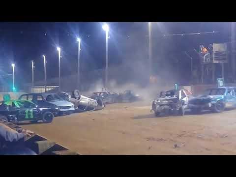 Hagerstown Speedway V6 class demolition derby #1100