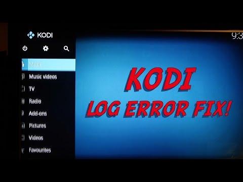 KODI - LOG ERROR FIX ***** Exodus Amazon Fire Stick