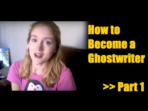 Becoming a Ghostwriter Part 1 || Make Money from Home Freelance Writing