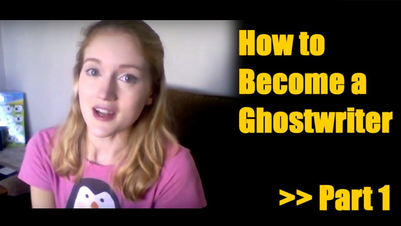 How do i become a ghostwriter