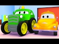The Tractor and Tom the Tow Truck | Cars & Trucks construction cartoon for children