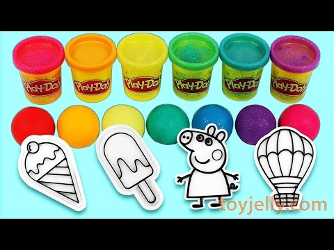 Thumbnail: Learn Colors Glitter Play Doh Clay Popsicle Ice Cream Peppa Pig Learn Number Orbeez Surprise Pokemon