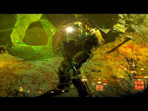 fallout 4 raider power armor location youtube