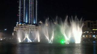 The Dubai Fountain - M.J. - Thriller - 12-2011