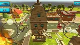 Spider Simulator: Amazing City Android Gameplay #24