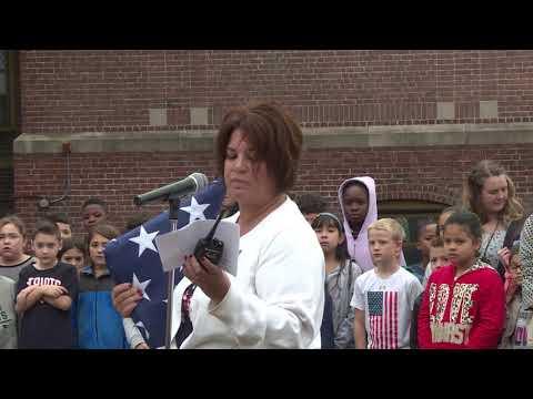 Balch School Flag Ceremony