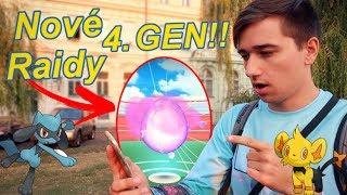 Pokémon GO   Noví Pokémoni ze 4. GEN na raidech a ve vejcích!   Jakub Destro